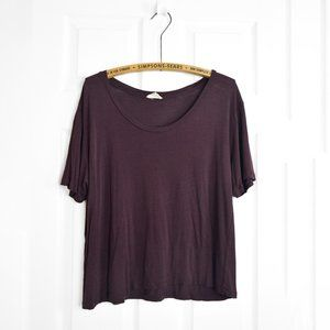 Wilfred Free Burgundy T Shirt